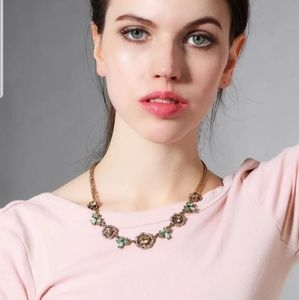 Sparkly Chunky Statement Collar Necklace